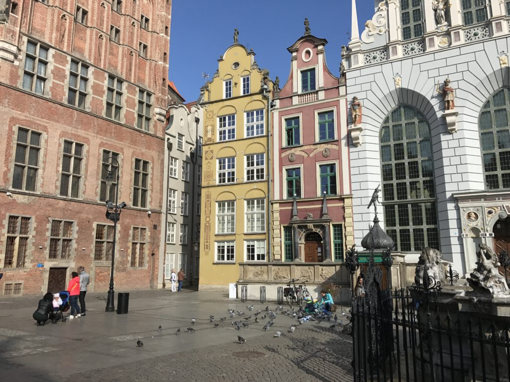 Площадь Длугий Тарг, Гданськ