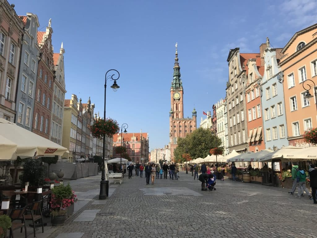 Вил на площадь Длугий Тарг и Ратушу, Гданьск