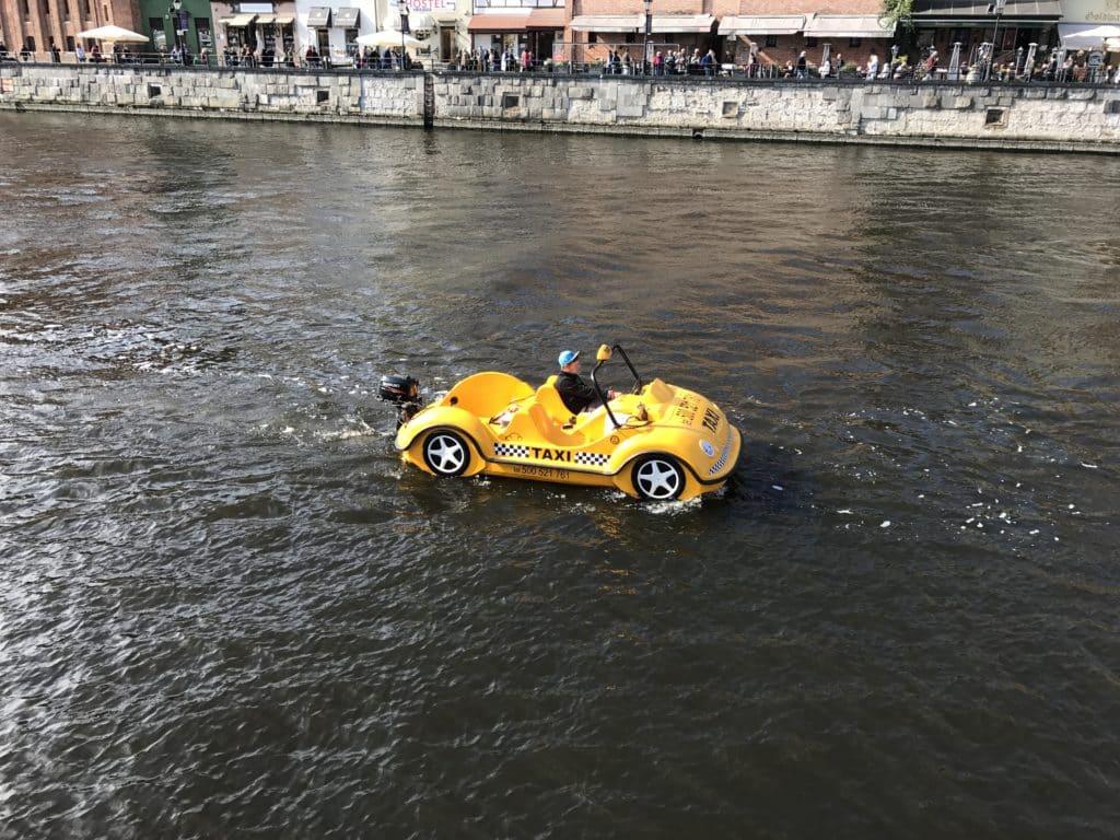 Речное такси в Гданьске