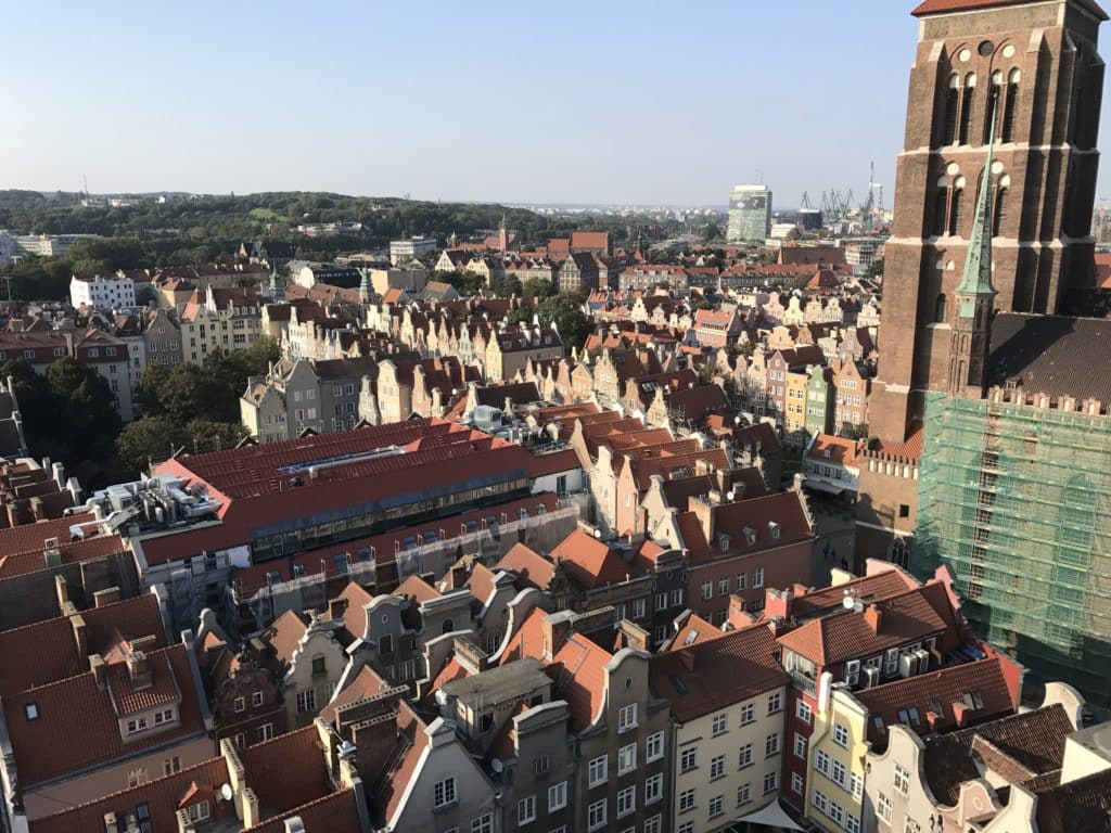 Красота Средневековой архитектуры Гданьска