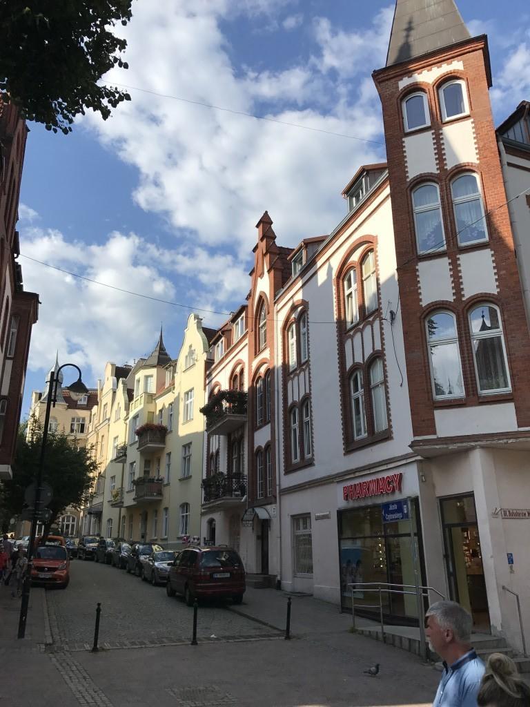 Дома в Сопоте, Польша