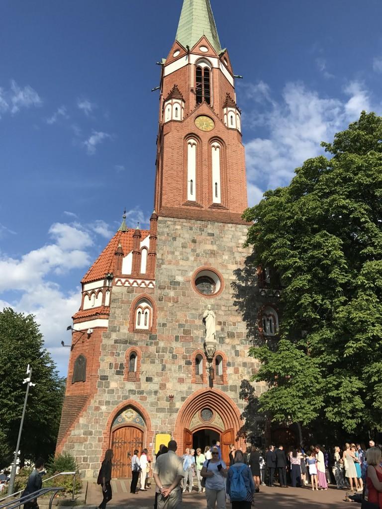 Костел Св. Георгия в Сопоте, Польша