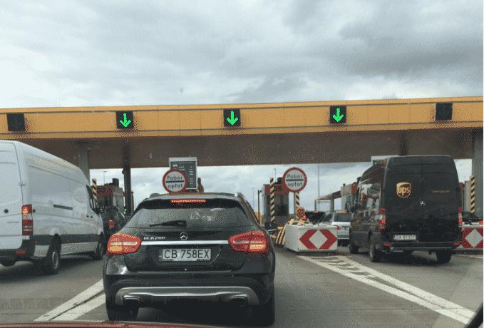 Оплата на автобане
