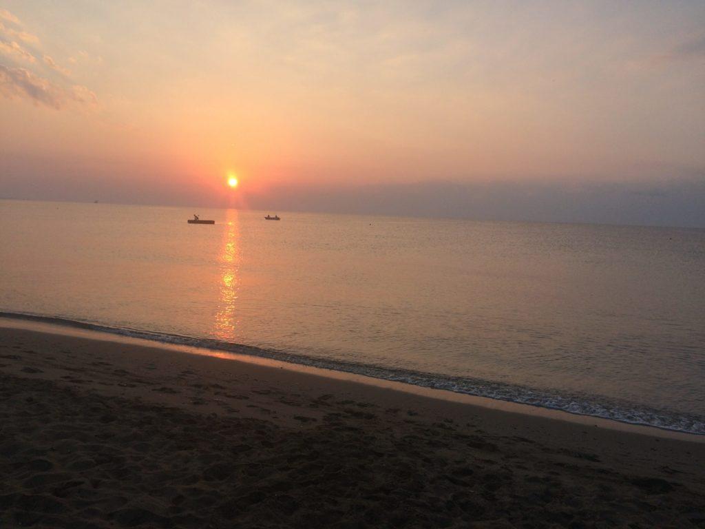 Восход солнца на Кипре