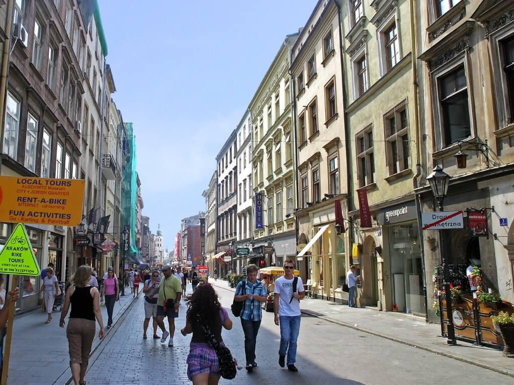 Старые улицы Кракова