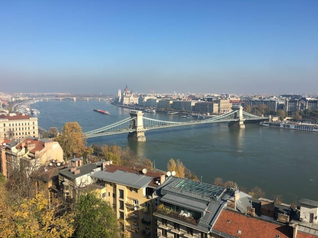 Две части Будапешта