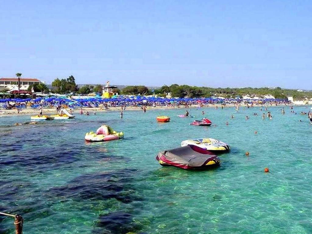 Пляж, море - Ланда Бич