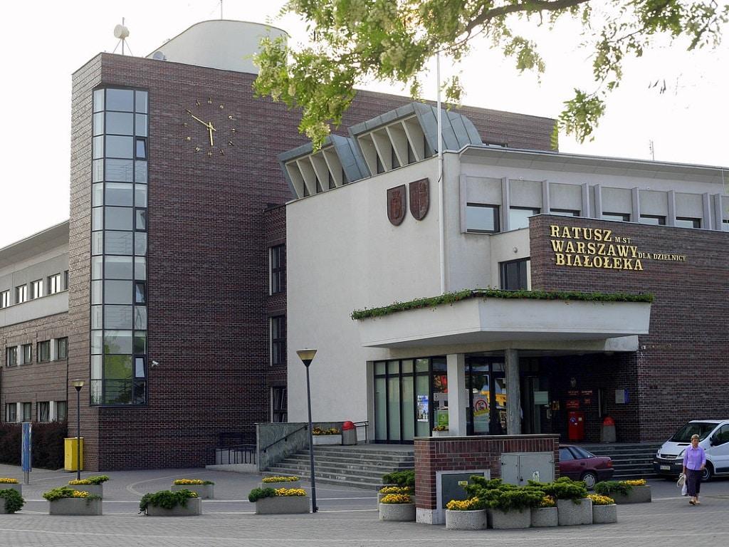 Ратуша в Бялоленке