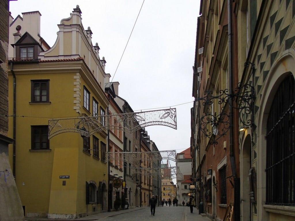 Улицы старой Варшавы