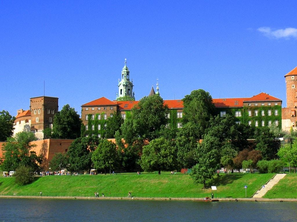 Замок Вавель - вид с реки